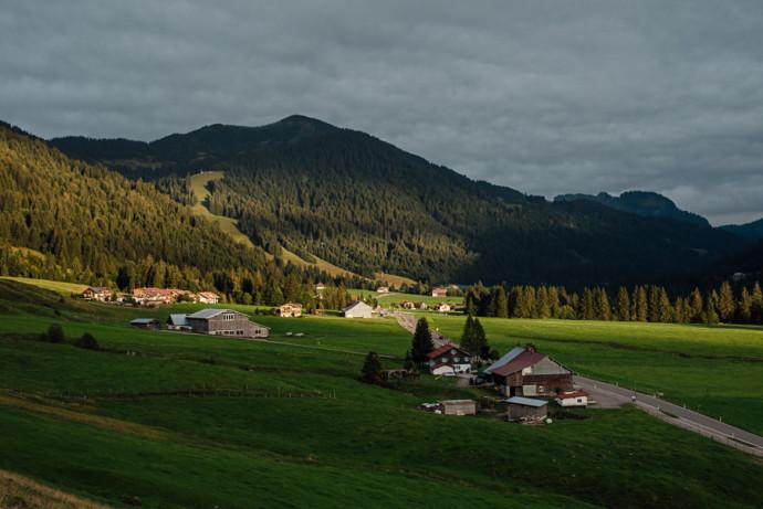 Unterwegs im Allgäu - Hotel Hubertus in Balderschwang - Viehscheid in Kranzegg-83