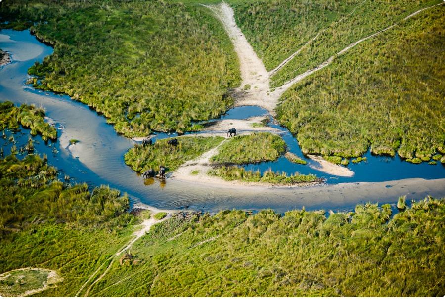 Afrika Teil1 - Von WIndhoek,Namibia nach Botswana ins Okavango Delta (29a von 9)