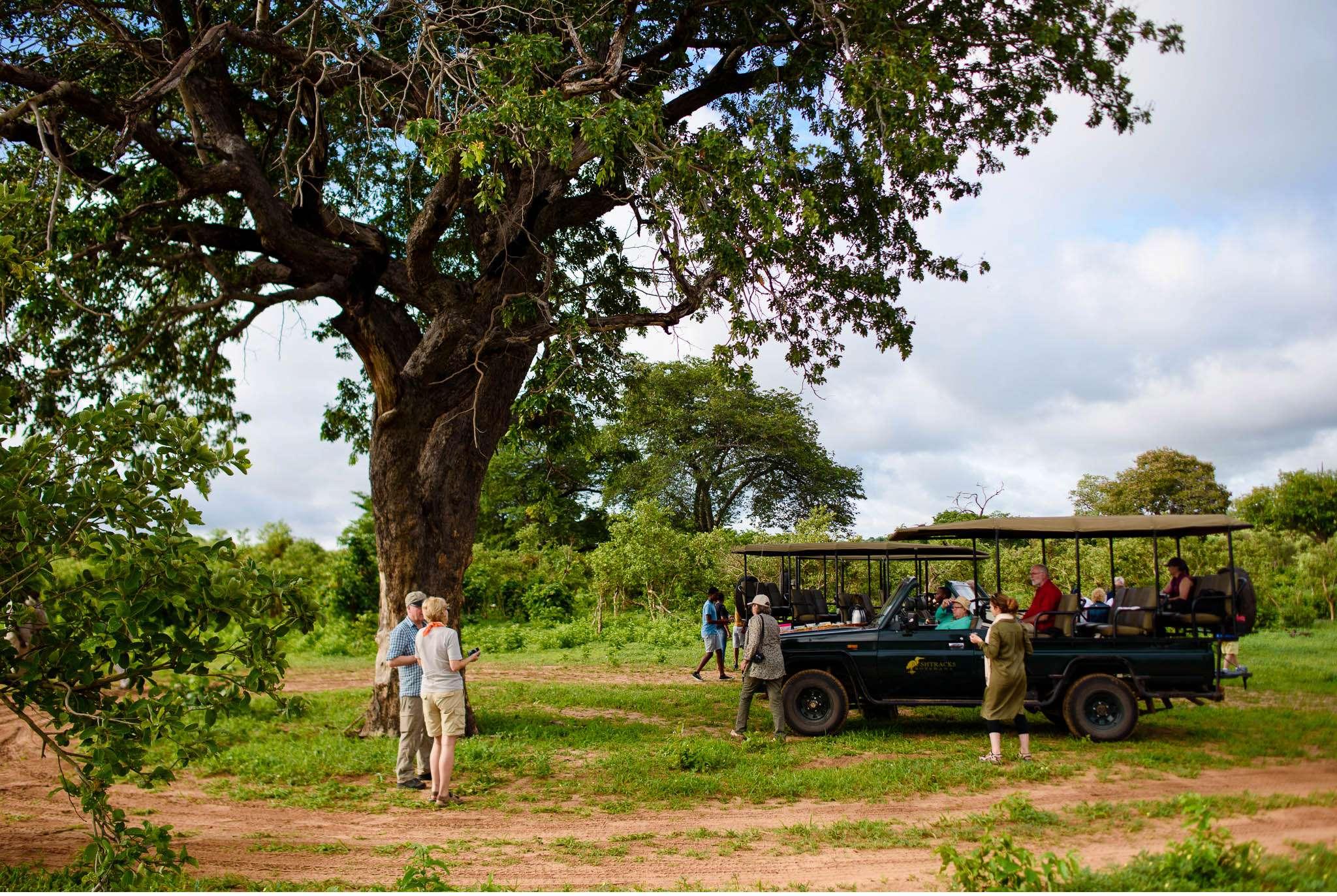 Chobe Nationalpark Botswana und Victoriafalls Zambia-49