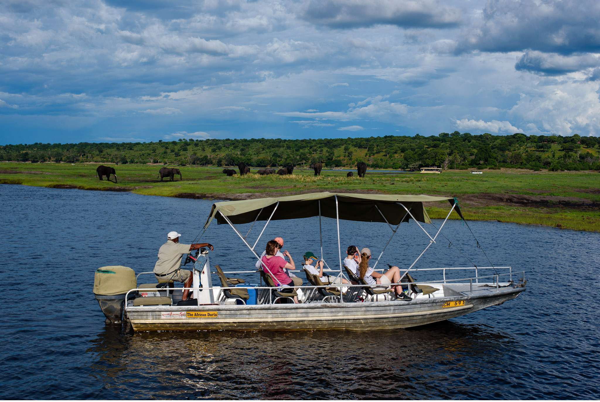 Chobe Nationalpark Botswana und Victoriafalls Zambia-78