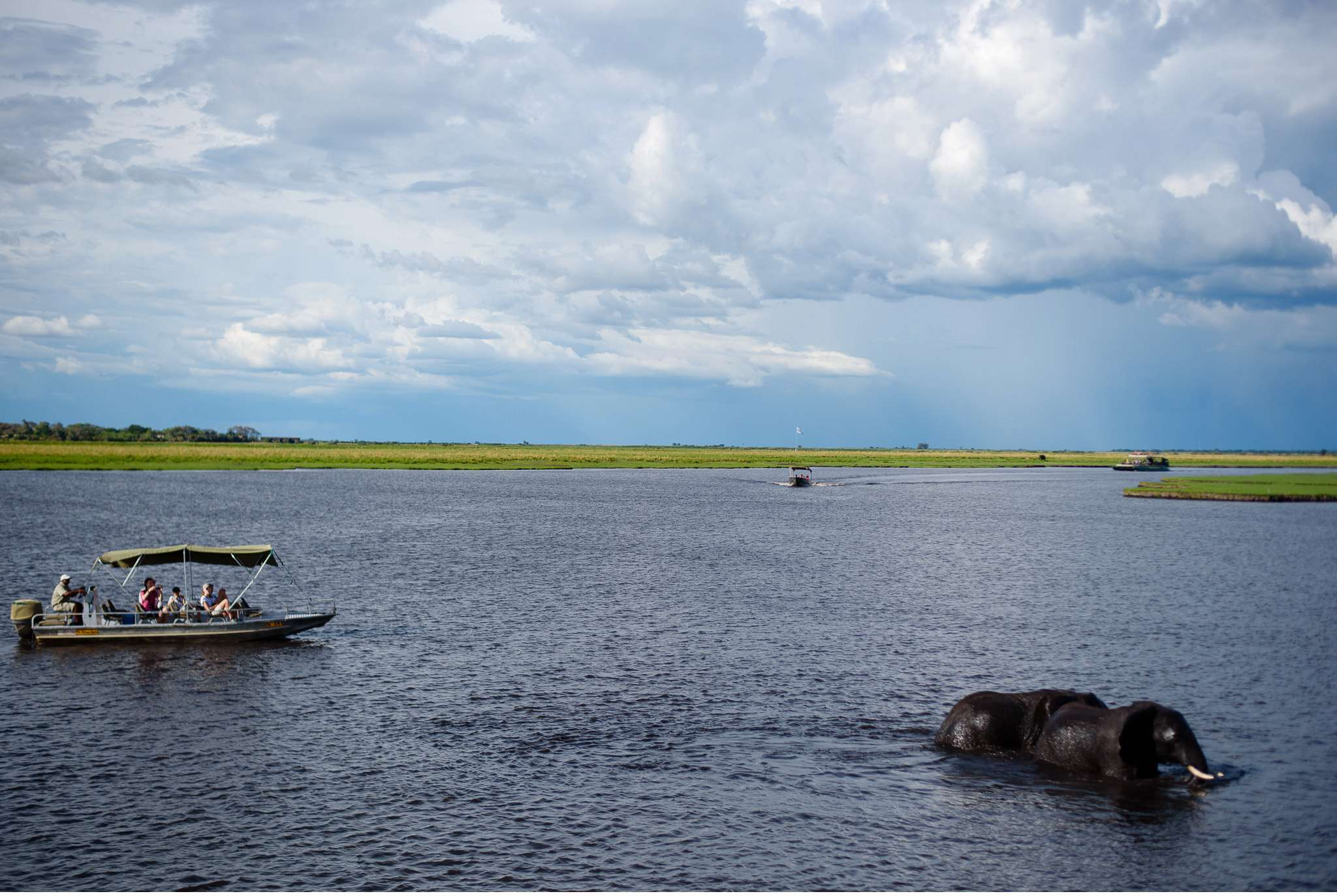 Chobe Nationalpark Botswana und Victoriafalls Zambia-80