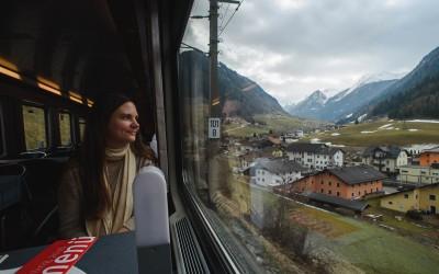 Zugreise mit dem Interrail Global Pass