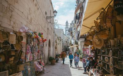 Spaziergang durch Bari, Apulien