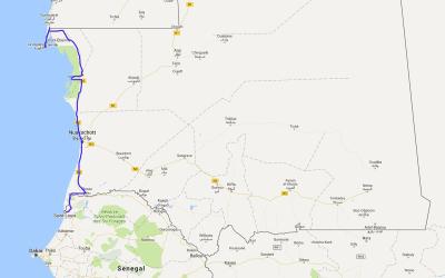 Einmal rund um Afrika – Teil 2 – Die islamische Republik Mauretanien