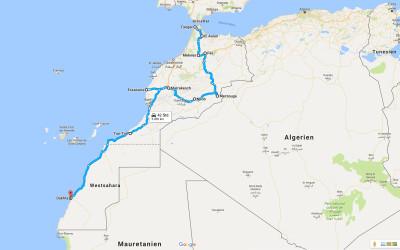 Einmal rund um Afrika – Teil 1 – Marokko