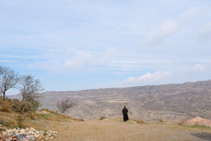 Dawit Garedscha - Georgien - Kloster - Priester-1