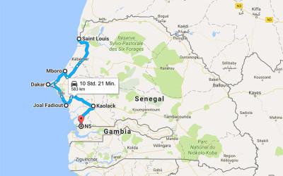 Einmal rund um Afrika – Teil 3 – Senegal