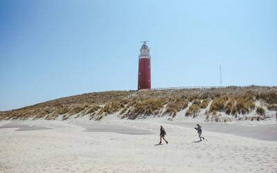 Die holländische Nordsee Insel Texel, unweit von Amsterdam