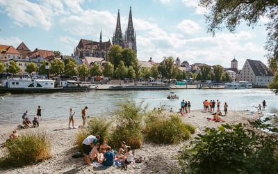 Impressionen vom Buergerfest in Regensburg 2017