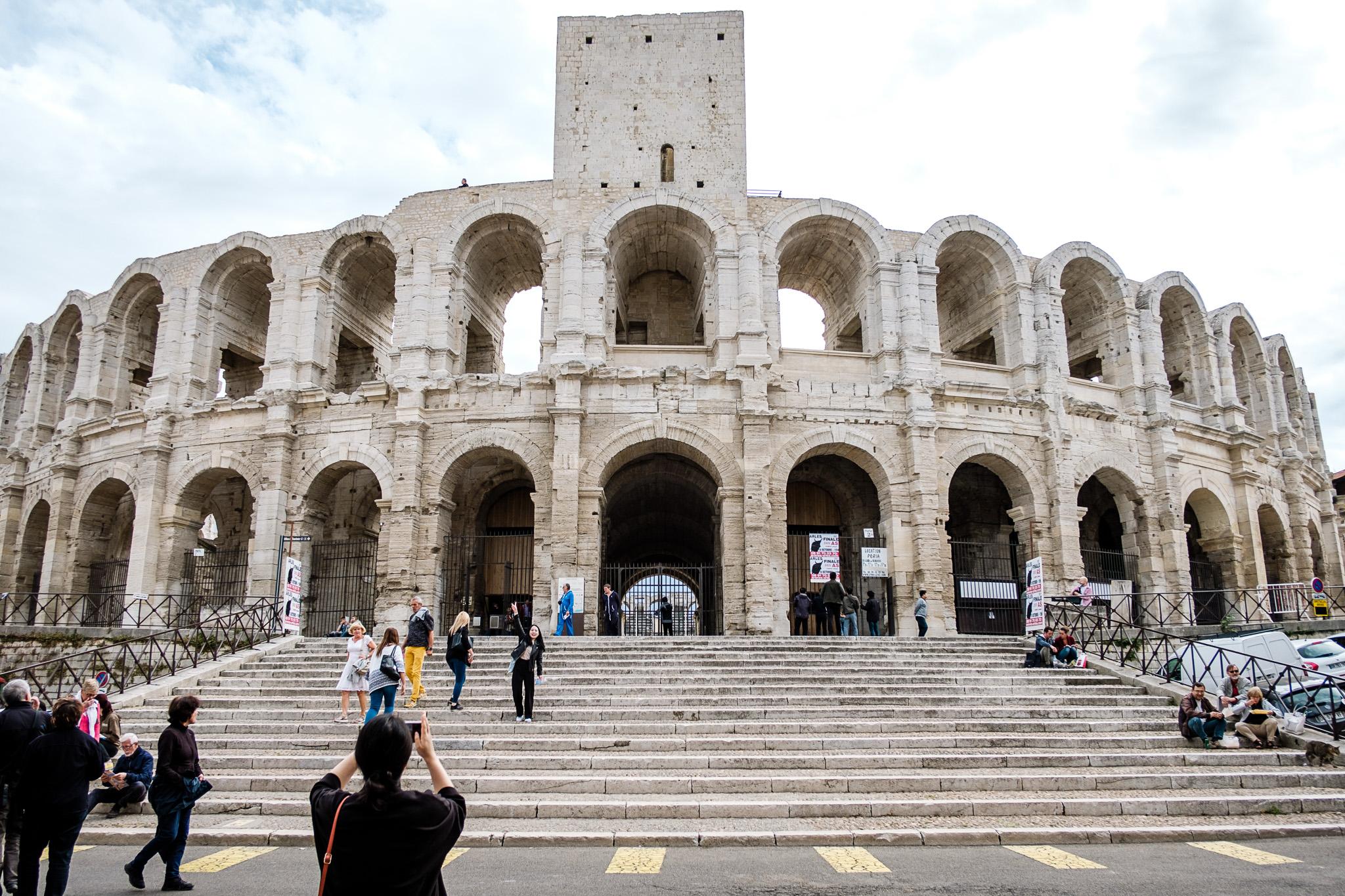 Amphitheater Arles - UNESCO - Welkulturerbe - Frankreich-1