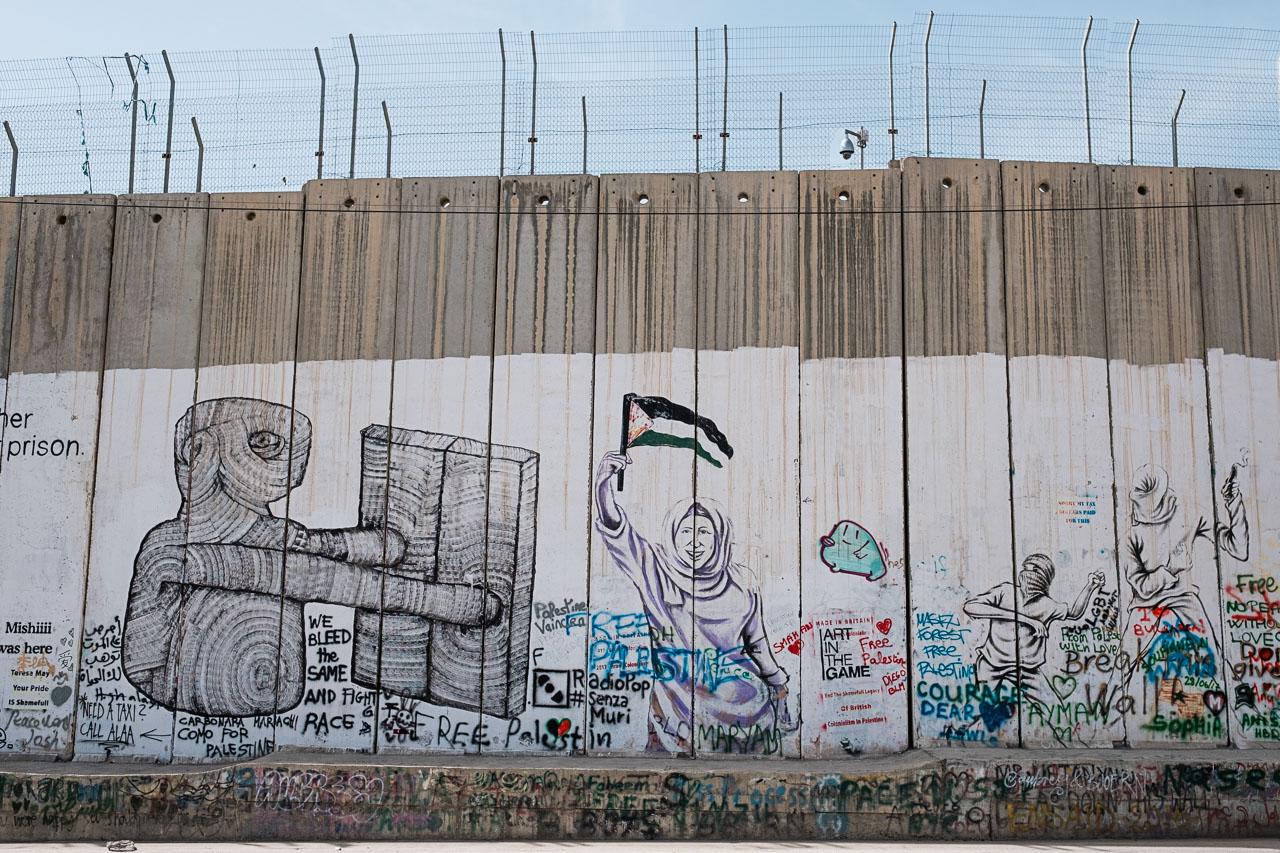 Banksy Hotel - Bethlehem - Palästina - Geschichten von unterwegs (11 von 103)