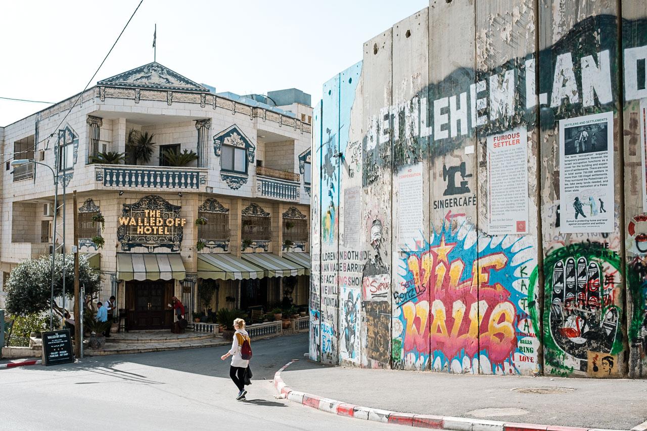 Banksy Hotel - Bethlehem - Palästina - Geschichten von unterwegs (16 von 103)