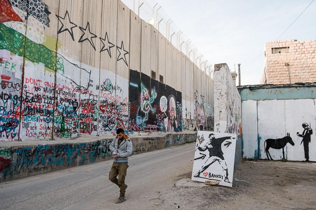 Banksy Hotel - Bethlehem - Palästina - Geschichten von unterwegs (31 von 103)