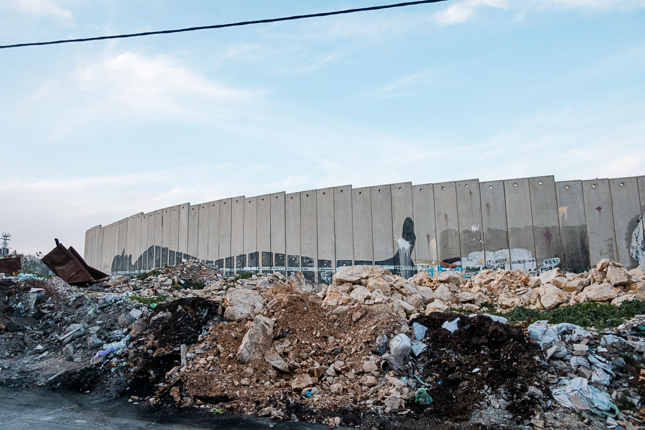 Banksy Hotel - Bethlehem - Palästina - Geschichten von unterwegs (39 von 103)