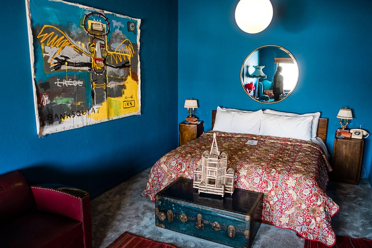 Banksy Hotel - Bethlehem - Palästina - Geschichten von unterwegs (56 von 103)