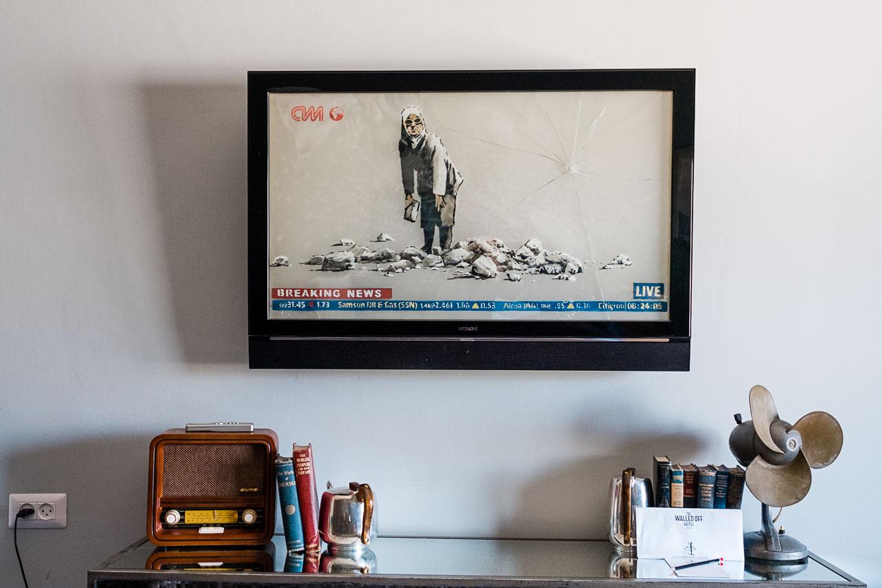 Banksy Hotel - Bethlehem - Palästina - Geschichten von unterwegs (59 von 103)