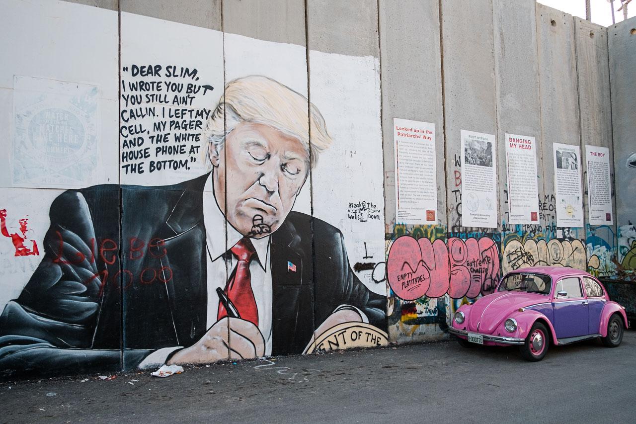 Banksy Hotel - Bethlehem - Palästina - Geschichten von unterwegs (85 von 103)