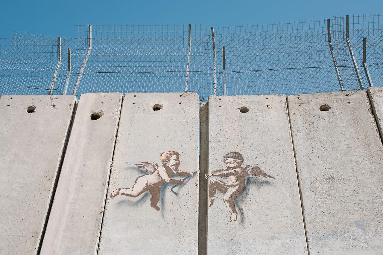 Banksy Hotel - Bethlehem - Palästina - Geschichten von unterwegs (92 von 103)