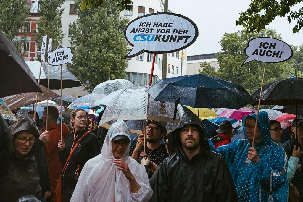 ausgehetzt Demo München - CSU - Seehofer - Söder - Demo - Human rights (106 von 48)