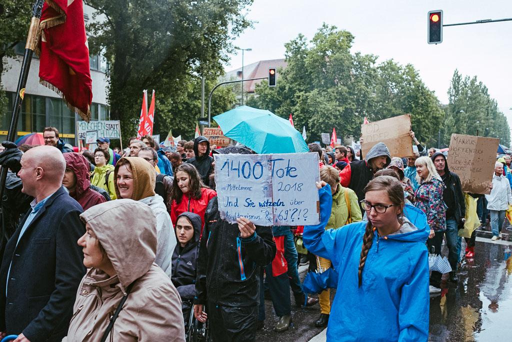 ausgehetzt Demo München - CSU - Seehofer - Söder - Demo - Human rights (110 von 48)