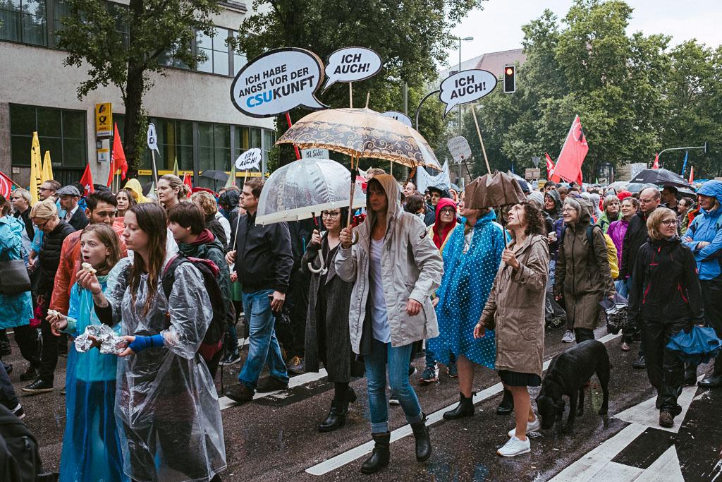 ausgehetzt Demo München - CSU - Seehofer - Söder - Demo - Human rights (111 von 48)