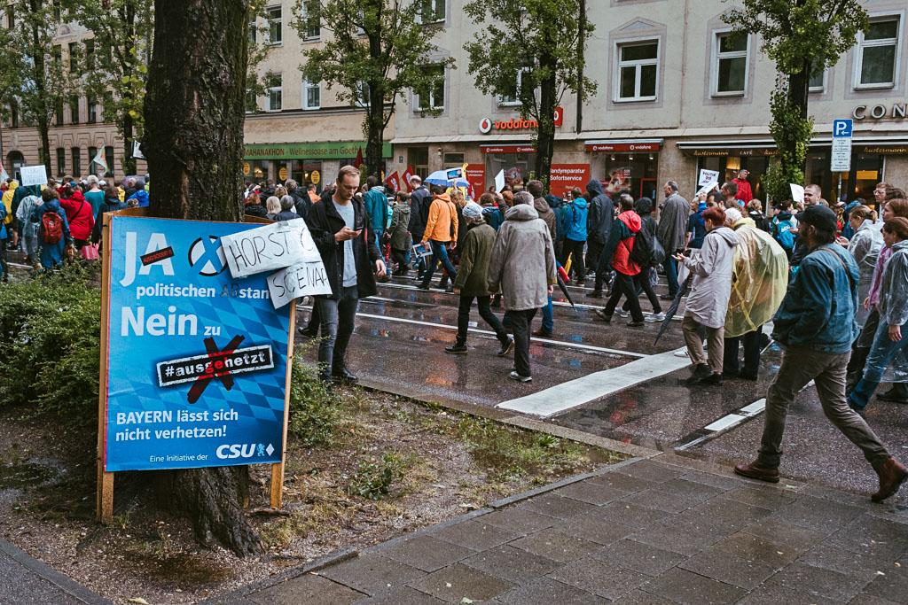 ausgehetzt Demo München - CSU - Seehofer - Söder - Demo - Human rights (112 von 48)