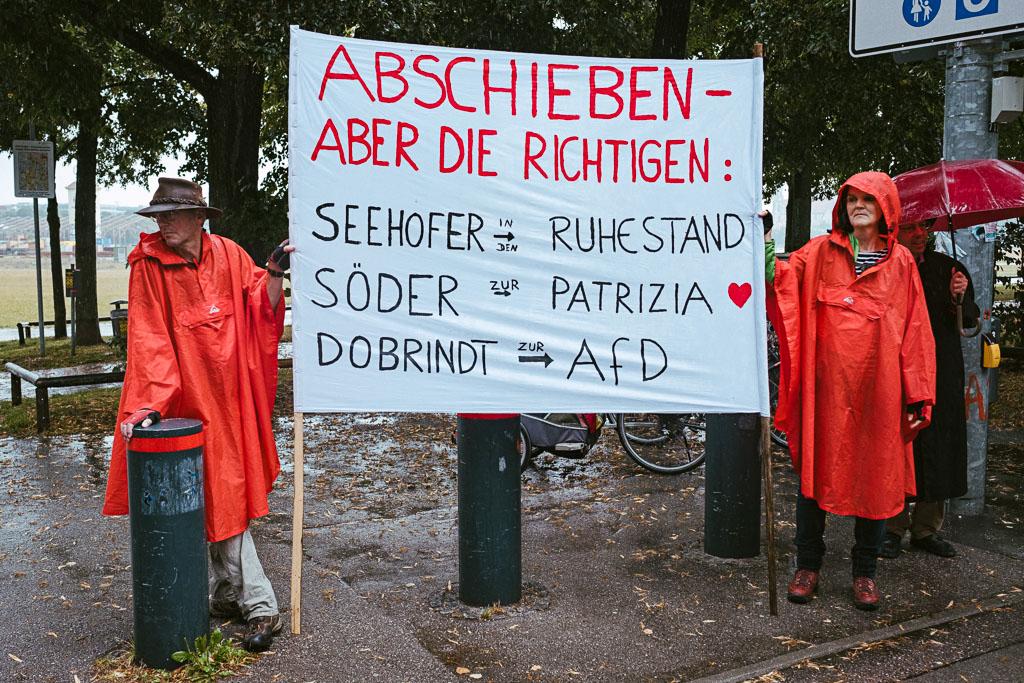 ausgehetzt Demo München - CSU - Seehofer - Söder - Demo - Human rights (123 von 48)