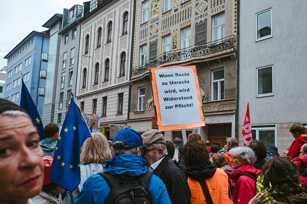 ausgehetzt Demo München - CSU - Seehofer - Söder - Demo - Human rights (126 von 48)