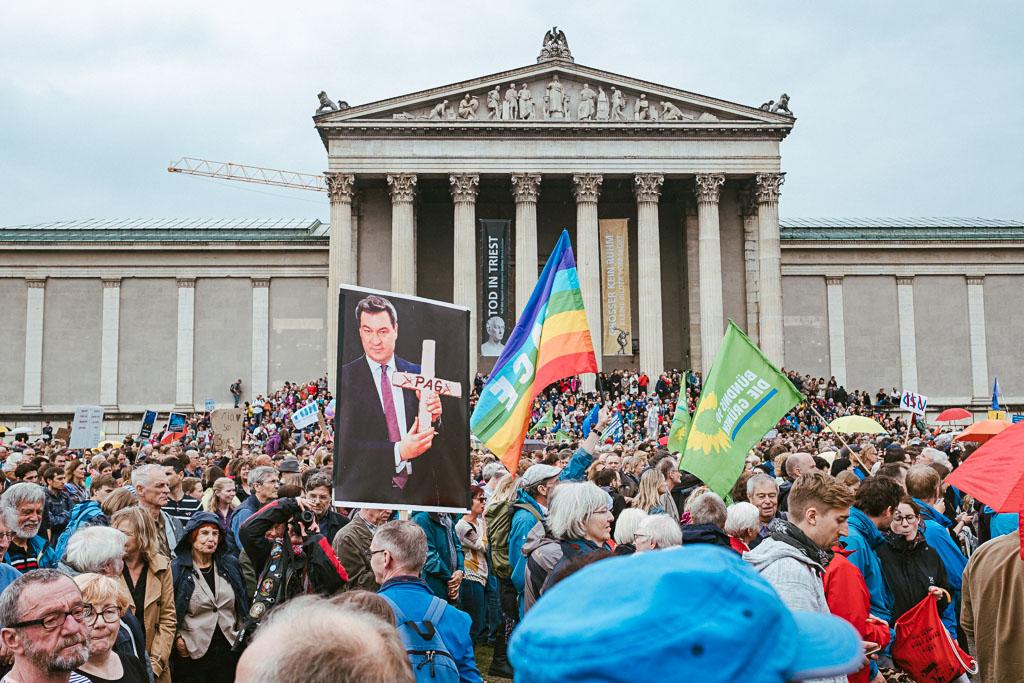 ausgehetzt Demo München - CSU - Seehofer - Söder - Demo - Human rights (133 von 48)