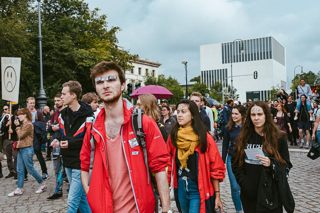 ausgehetzt Demo München - CSU - Seehofer - Söder - Demo - Human rights (140 von 48)