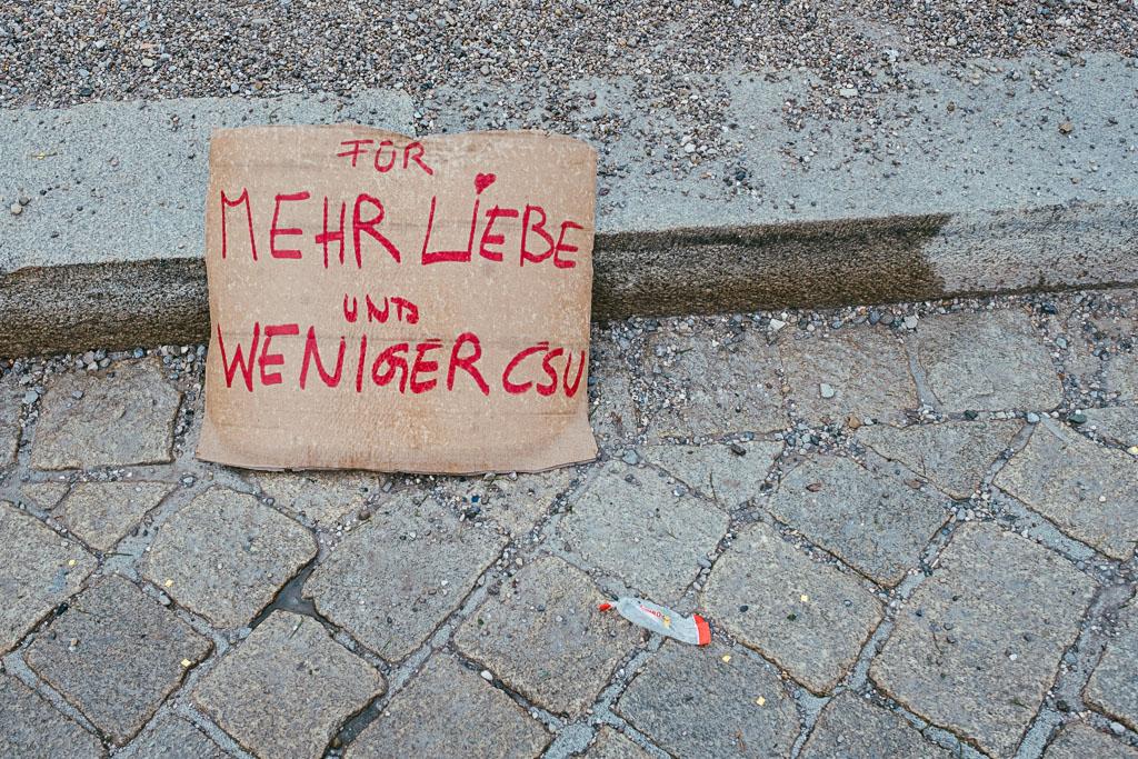 ausgehetzt Demo München - CSU - Seehofer - Söder - Demo - Human rights (146 von 48)