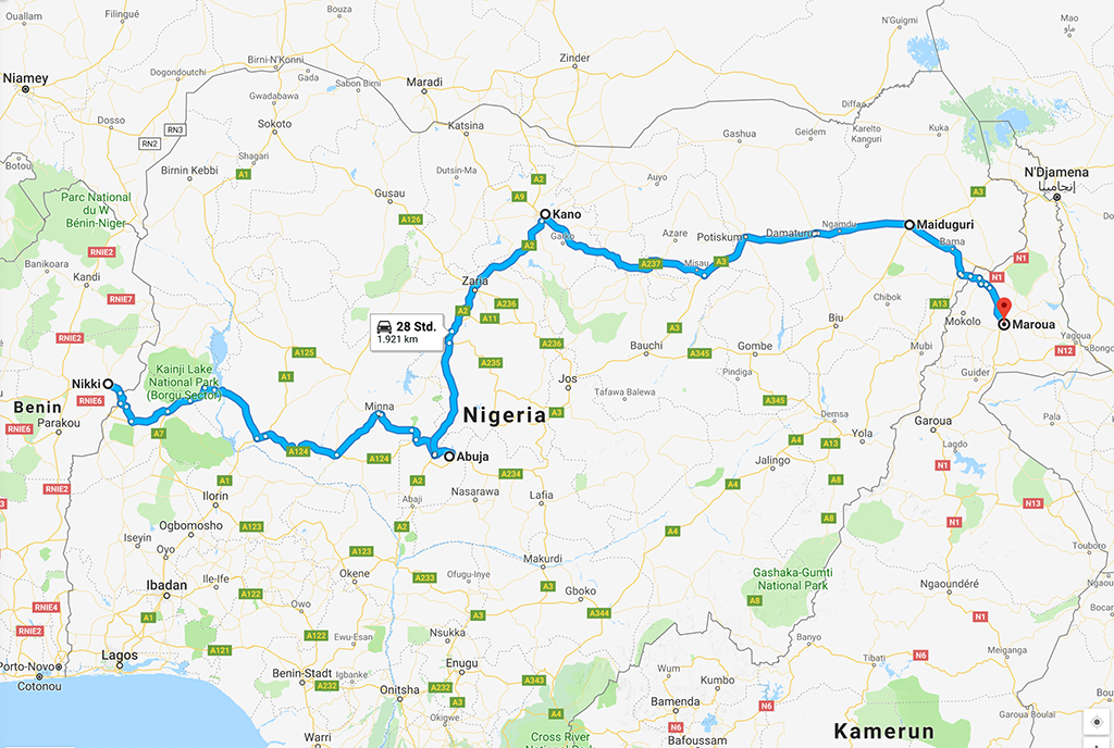 Einmal rund um Afrika - Africa Overland - cover