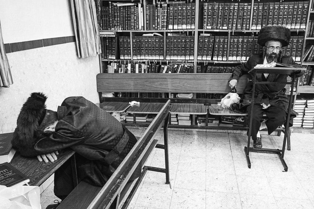 Purim - Mea Shearim - Jerusalem by Daniel Kempf-Seifried-1949