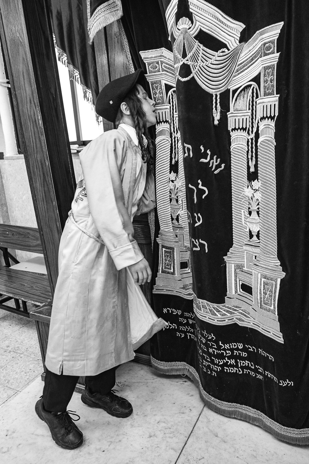 Purim - Mea Shearim - Jerusalem by Daniel Kempf-Seifried-1972