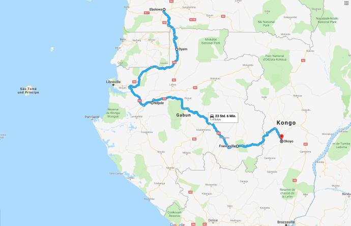 Gabun - Eine reise durch Afrika - Geschichten von unterwegs