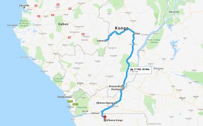 Einmal rund um Afrika – Teil 11 – Kongo und DRC