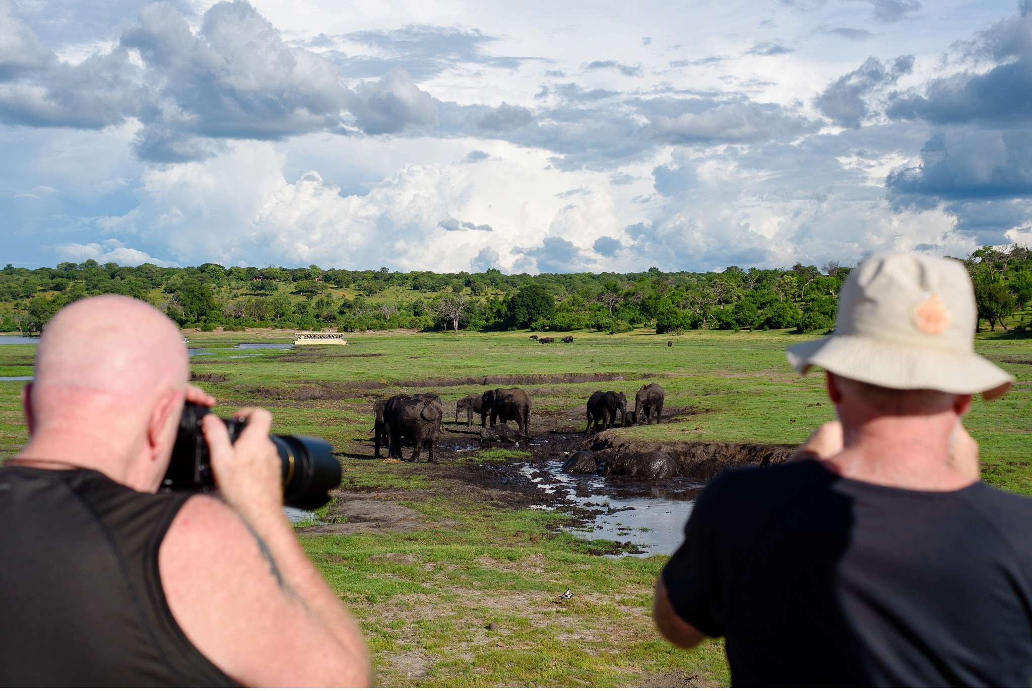 Chobe Nationalpark Botswana und Victoriafalls Zambia-82