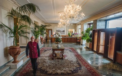 Das traditionsreiche Grand Hotel Vesuvio in Neapel