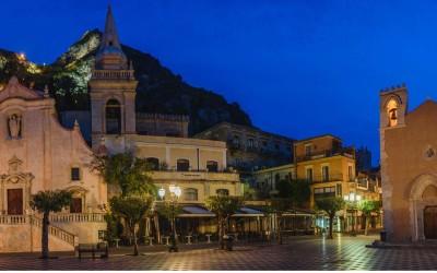 Taormina und der höchste Vulkan Europas, der Ätna