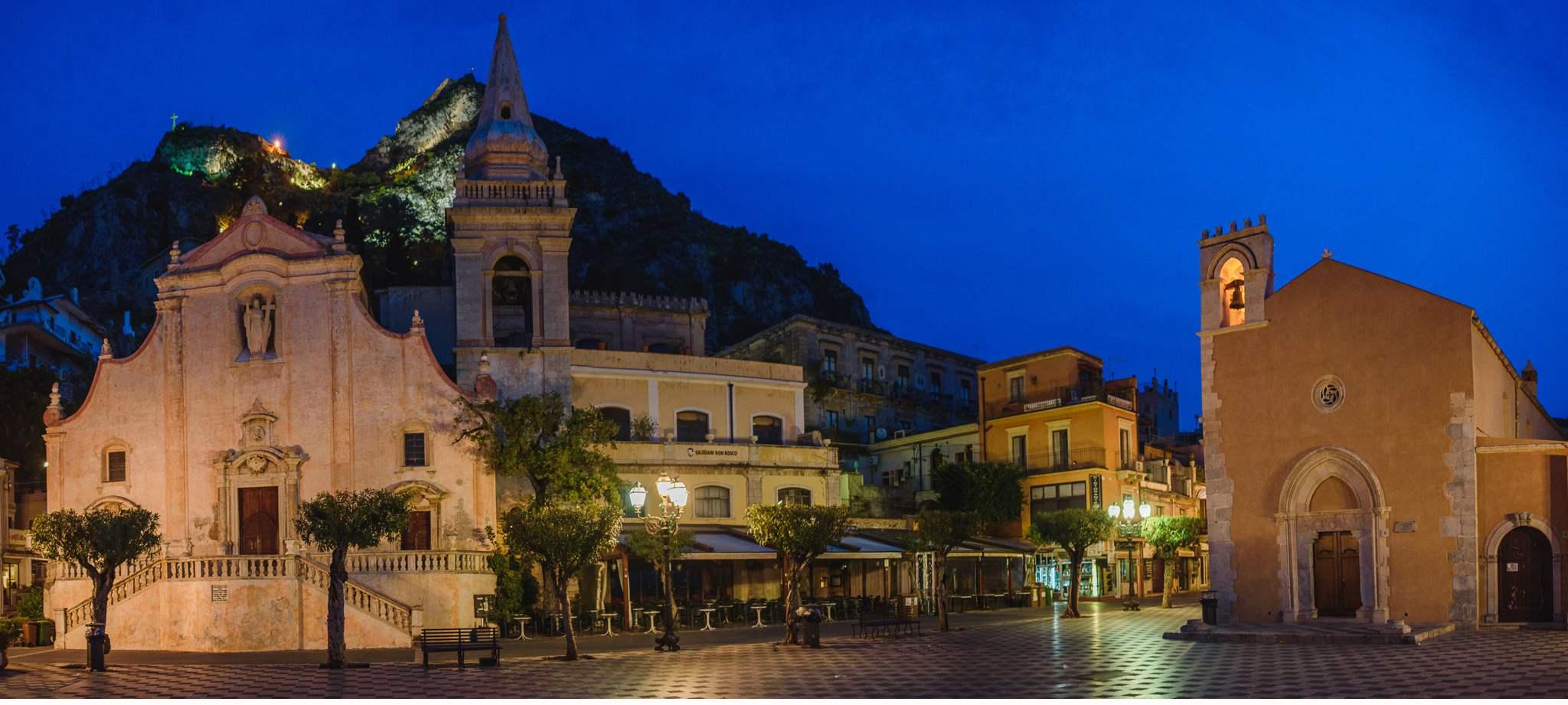 Taormina und der höchste Vulkan Europas, der Ätna -