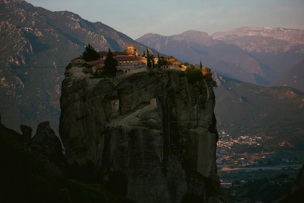 Die geheimnisvollen Klöster von Meteora im Norden von Griechenland