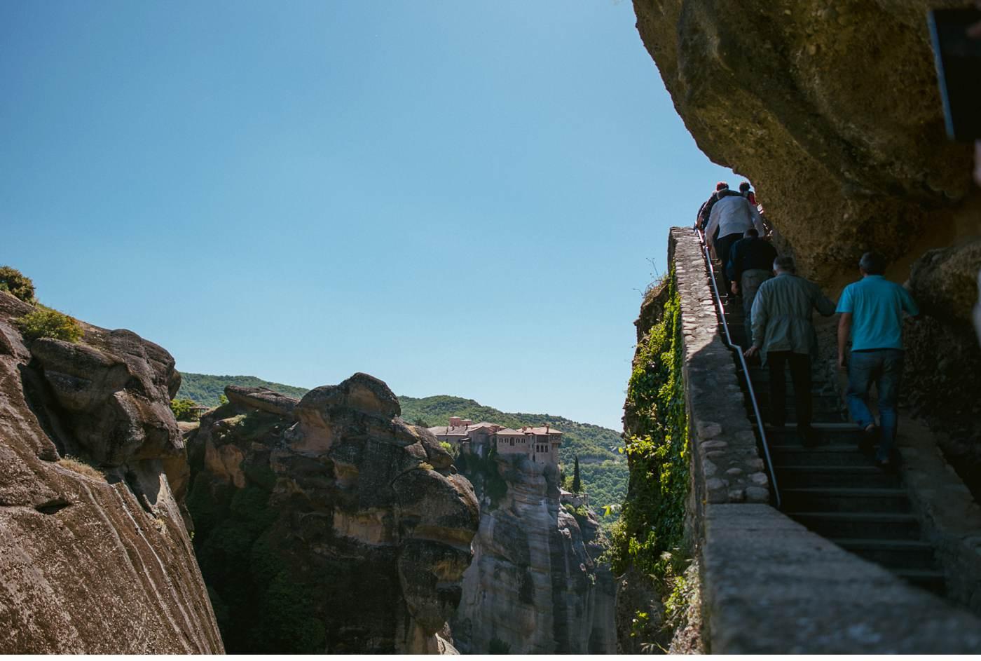 Meteora - Kalambaka - Griechenland - Klöster_0552