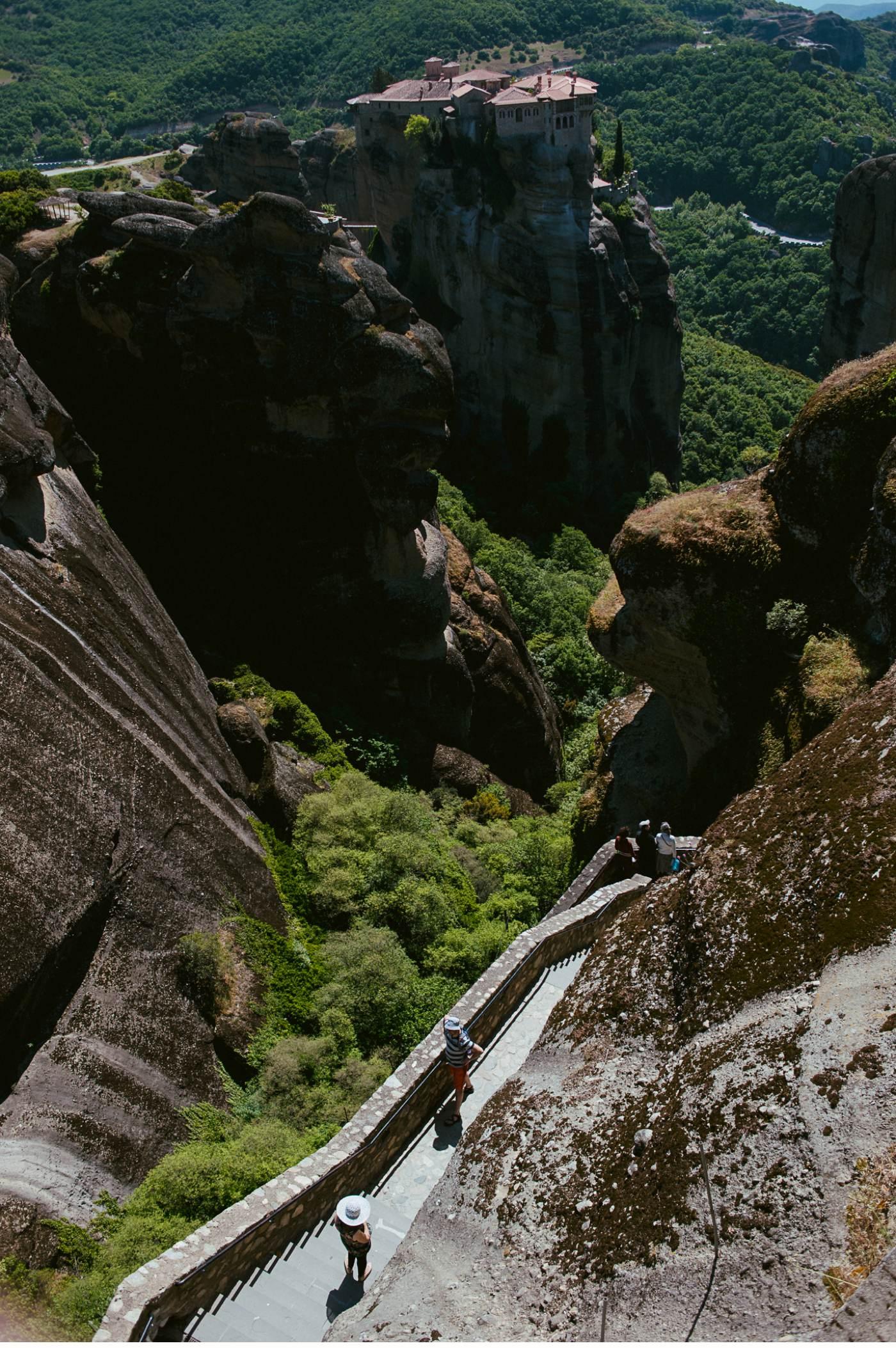 Meteora - Kalambaka - Griechenland - Klöster_0553