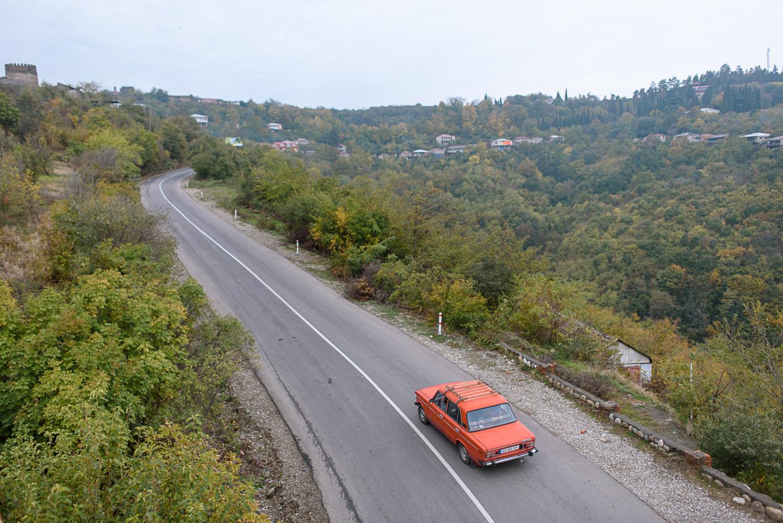 Roadtrip Georgien - Sighnaghi - Vashlovani - Prometheus Höhle Kutaissi-36