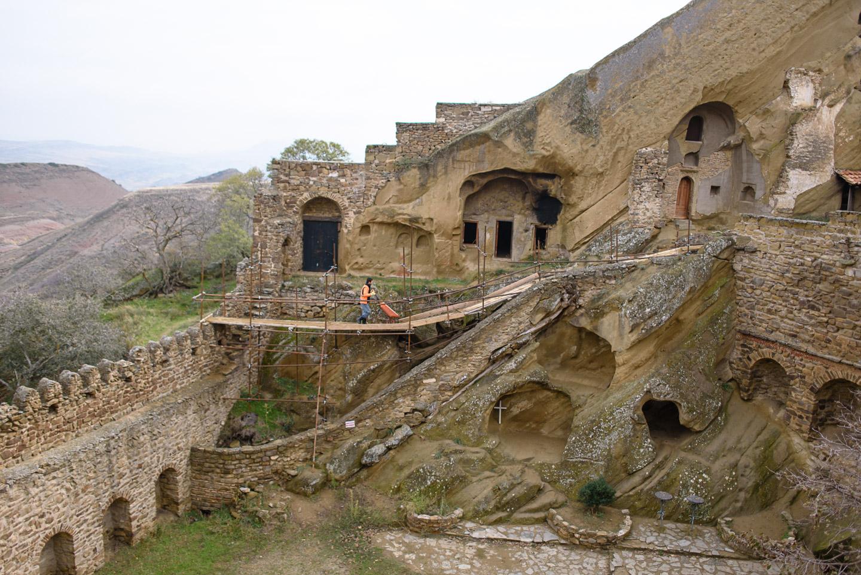 Roadtrip Georgien - Sighnaghi - Vashlovani - Prometheus Höhle Kutaissi-44