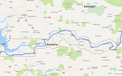 Einmal rund um Afrika – Teil 4 – Gambia