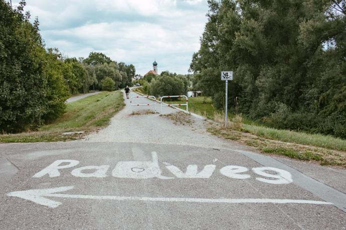 Donauradweg - Regensburg - Straubing - Danube - Bayern - Radweg-7