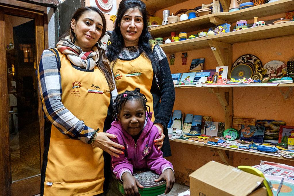Riace - Camini - Calabria - Italien - Flüchtlinge - Integration-64