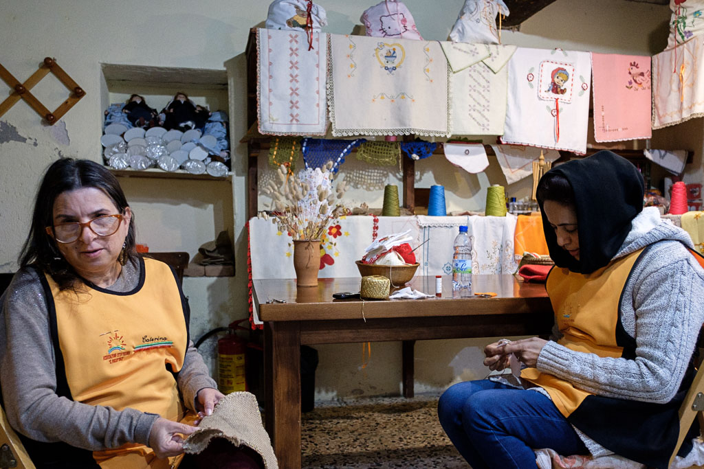 Riace - Camini - Calabria - Italien - Flüchtlinge - Integration-78