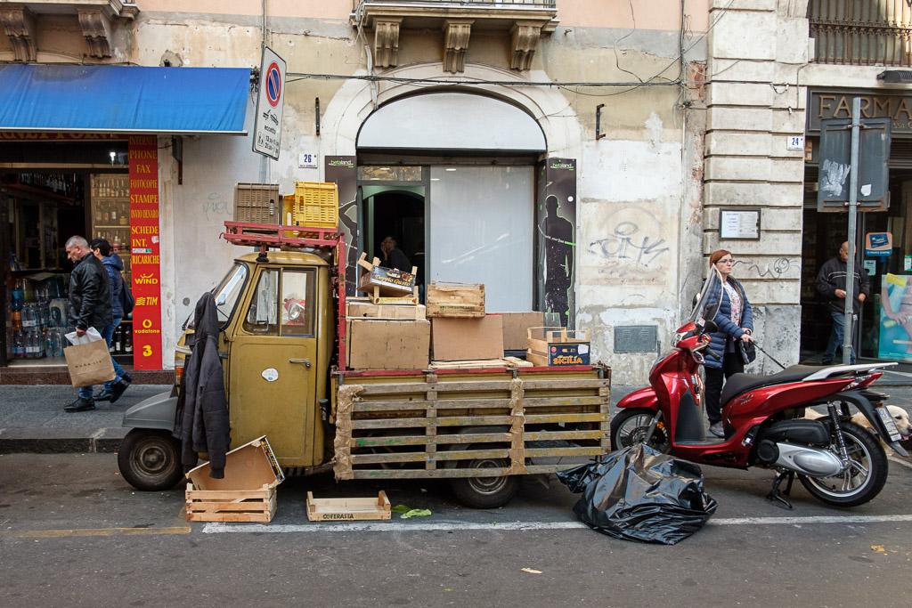 Sizilien - Catania - Italien - Geschichten von unterwegs - Italia-188
